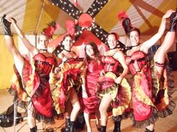Parisian Showgirl Vegas Moulin Rouge Burlesque Can Can Dancer Womens Costume